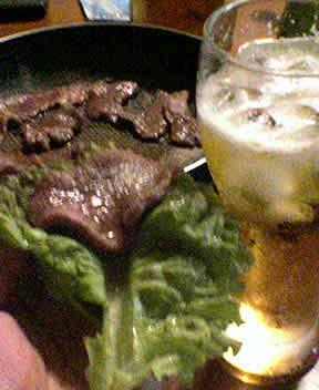 仙台牛タンで巻き巻き焼き肉